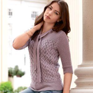 Стильный свитер для девушки
