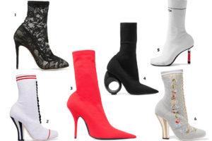 разные ботинки чулки