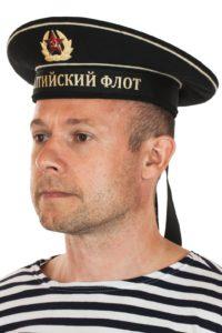моряк в бескозырке