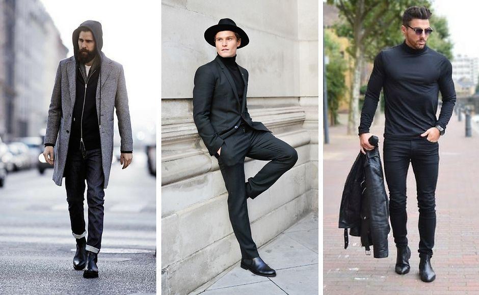 Мужские ботинки челси