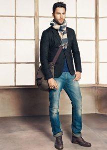 Броги 1 с джинсами