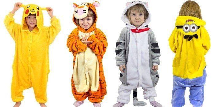 Детские костюмы кигуруми