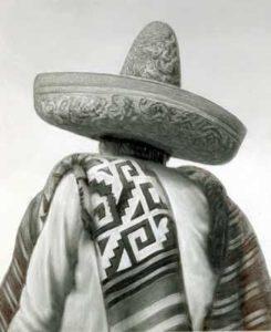 Исторический костюм с сомбреро