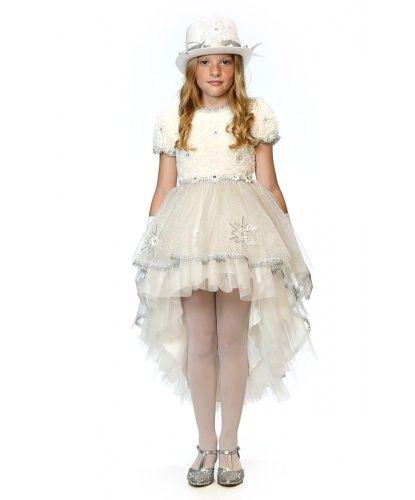 Белый цилиндр для девочки
