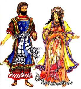 Древний еврейский костюм