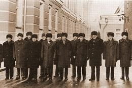 Пыжиковые шапки на партийных работниках в период СССР