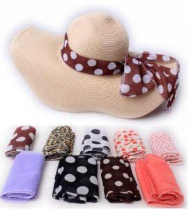 Как украсить шляпу лентами