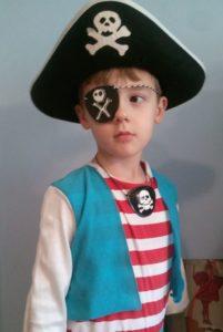 Детский пиратский костюм