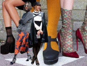 модные женские носки