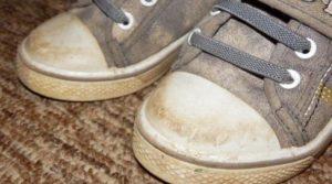 грязные кеды