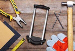 Инструменты для ремонта ручки