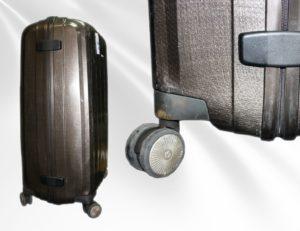 Колеса на чемодане