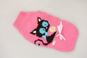 Кошке свитер