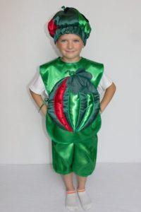 костюм арбуза на мальчике