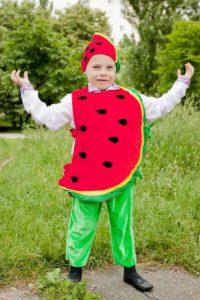 костюм арбуза для мальчика