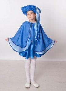 Костюм дождика для девчушки
