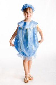 костюм капельки для девочки своими руками