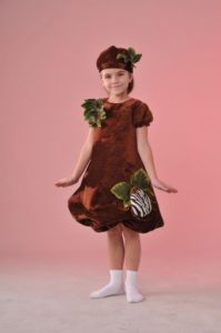 костюм картошки с декором