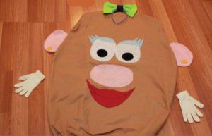 костюм картошки из ткани