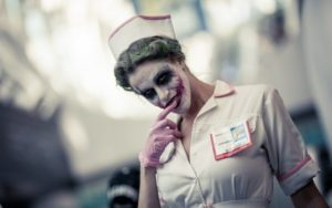 образ медсестры для хэллоуина