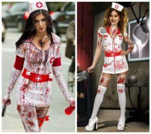 костюмы медсестры для хэллоуина