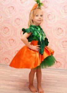 платье морковки своими руками