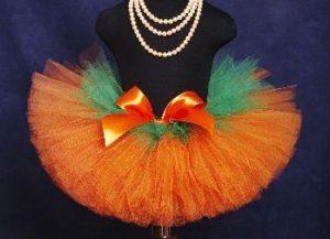 юбка для костюма морковки