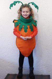 костюм морковки для девочки своими руками