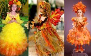 варианты костюмов осени