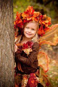 костюм мисс осень для девочки