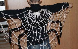 паутина для костюма паука