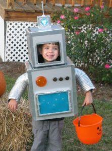 костюм робота для мальчика