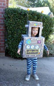 костюм робота своими руками