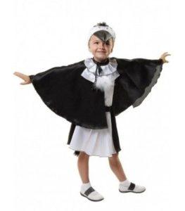 костюм сороки для девочки