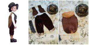 составные части костюма жука