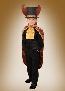костюм жука для мальчика