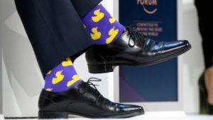 Фиолетовые мужские носки