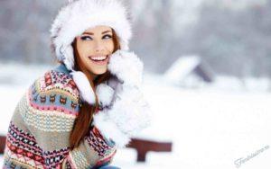 меховая зимняя женская шапка