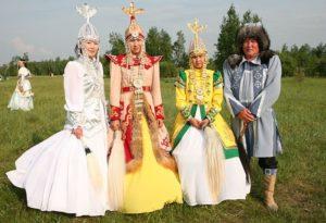 свадебные костюмы якутов