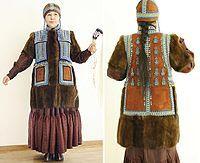 женский якутский костюм