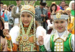 детский якутский костюм