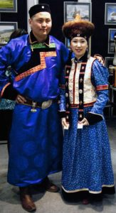 костюм бурятов мужчина и женщина
