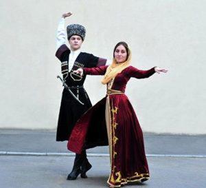 танец чеченов