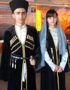 костюм чеченцев
