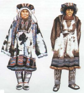 картинки костюм коряков