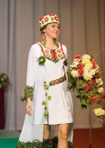 Национальный костюм марийцев для свадьбы