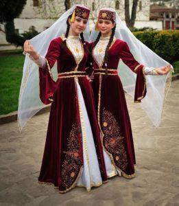 женский татарский национальный костюм