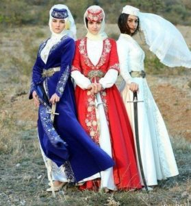 разновидности костюма для татар