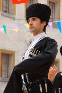 Осетинский мужской костюм