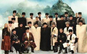 Осетинский нац. костюм